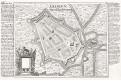 Geldern, Bodenehr,  mědiryt, 1726
