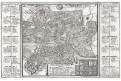 Roma, Bodenehr,  mědiryt, 1725