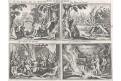 Germáni zvyky a náboženství, Merian, mědiryt, 1638
