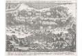 Bitva Mansfeld 1622,  Merian, mědiryt, 1635