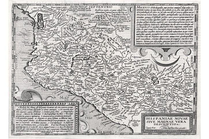 Bussemacher, Mexico, mědiryt, 1603