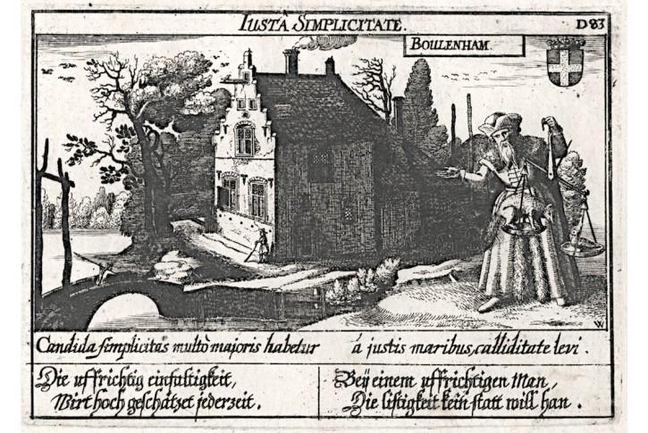 Boelenham / Betuwe, Meisner, mědiryt, 1637