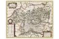 Germaniae Vet., Mercator - Hondius, mědiryt, 1633
