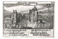 Loevestein bei Gorinchen, Meisner, mědiryt, 1637