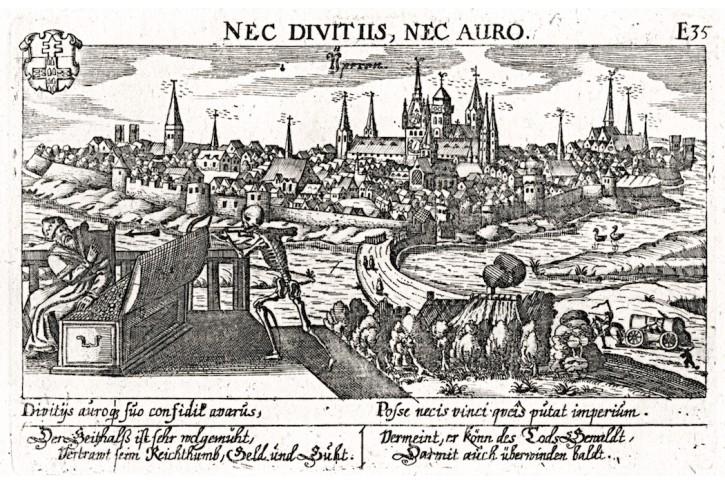Ypern, Meisner, mědiryt, 1637