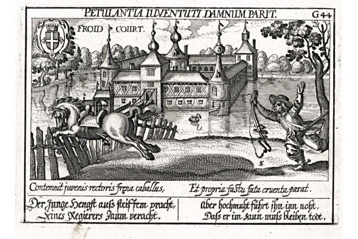 Froidcourt, Meisner, mědiryt, 1637