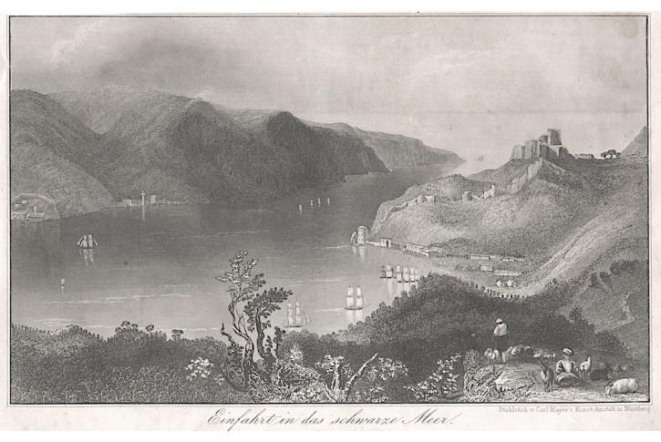 Bospor, oceloryt, 1846