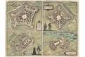 Philippeville, Chimay, B.H. kolor. mědiryt, 1581