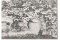 Jijel (Djidjelli), Merian, mědiryt, 1646