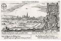 Wiener Neustadt, Meisner, mědiryt, 1678