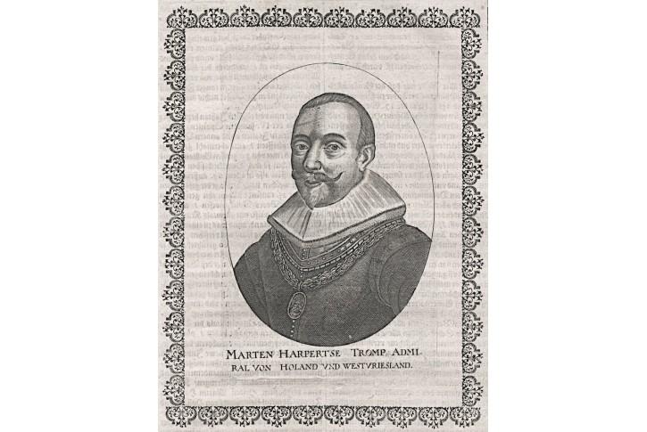Marten Harpetse,  Merian, mědiryt, 1641