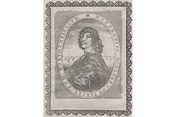 Algernon Percy  Merian, mědiryt, 1639