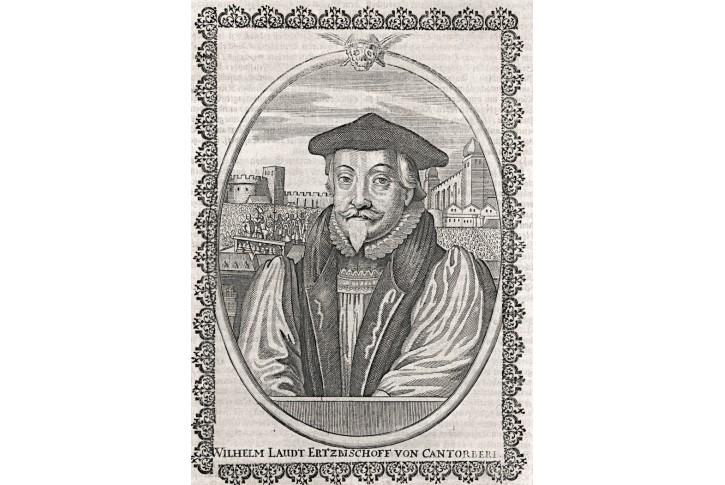 Wilhelm Laudt, Merian, mědiryt, 17 stol.