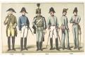 Rakousko vojáci 26.,Chromolitografie (1900)