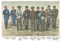 Rakousko vojáci 9.,Chromolitografie (1900)