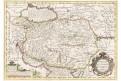 Persici, Mercator - Hondius, kolor.mědiryt, 1623