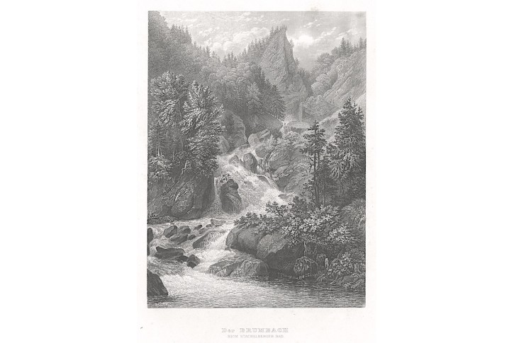 Brumbach, Meyer, oceloryt, 1850