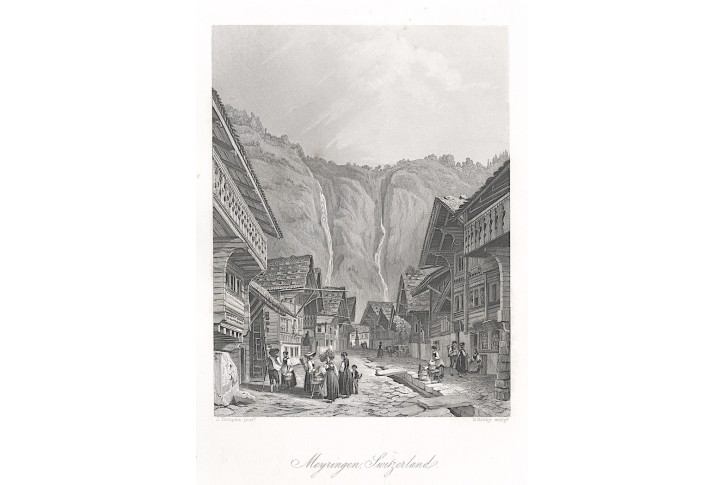 Meyringen, oceloryt, (1860)