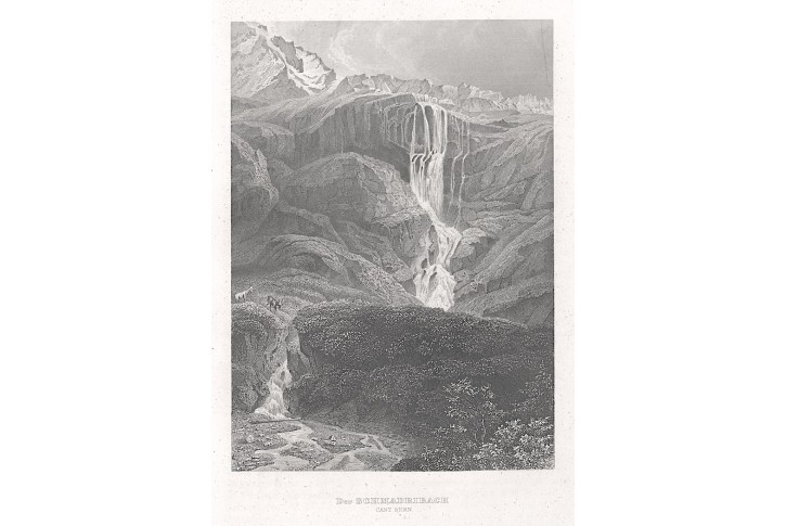 Schmadribach, Meyer, oceloryt, 1850