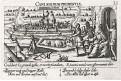 Bourbourg, Meissner, mědiryt, 1637