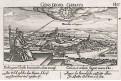 Oradea - Varadin Rumunsko, Meissner, mědiryt, 1637