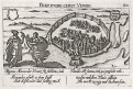 Euboea - Negroponte Řecko, Meissner, mědiryt, 1637