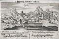 Kréta - Candia, Meissner, mědiryt, 1637