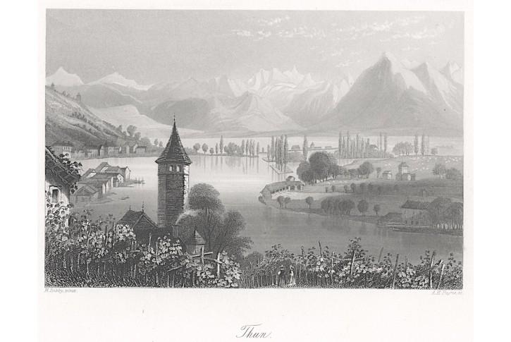 Thun, Payne, oceloryt (1860)