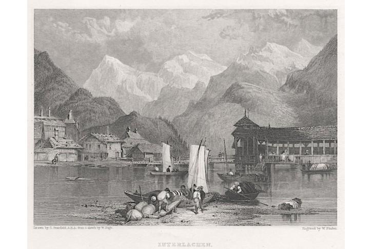 Interlacken, Murray, oceloryt, 1833