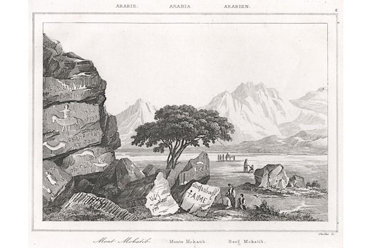 Mokatib, Le Bas, oceloryt 1840