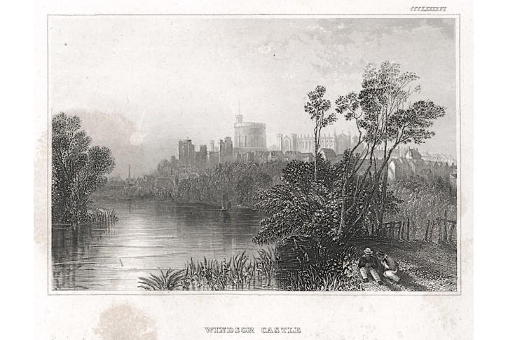 Windsor, Meyer, oceloryt, 1850
