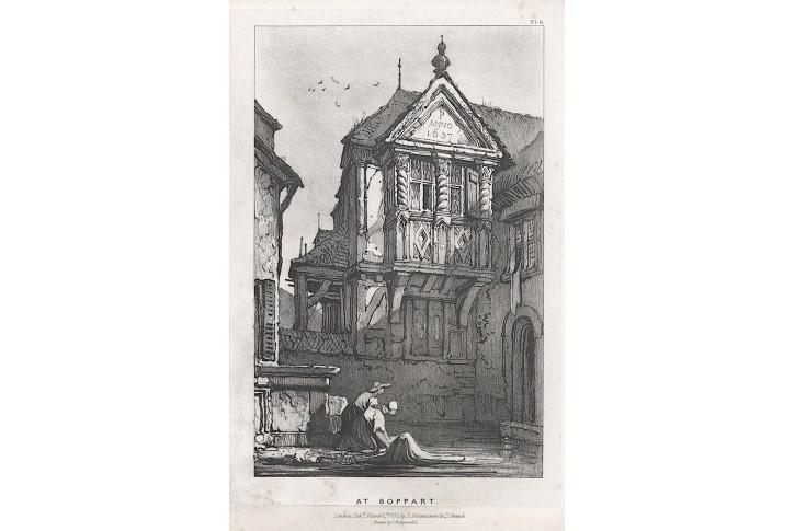 Boppard, Ackermann, lithographie, 1833
