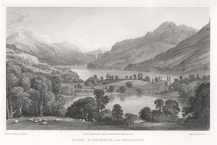 Brientz a Goldswil, Rodwel, oceloryt, 1819