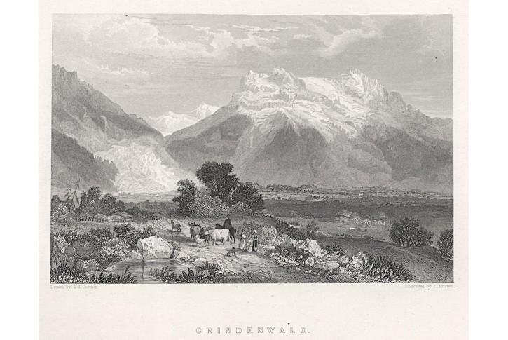 Grindenwald, Fullarton, oceloryt, (1840)