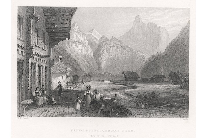Kandersteg, Virtue, oceloryt, 1834