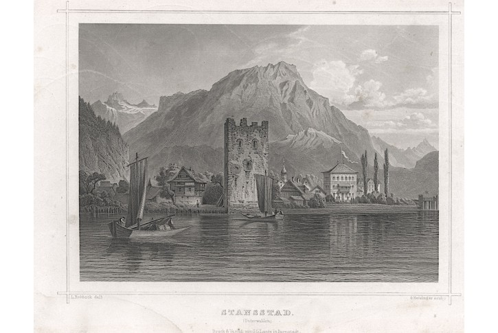 Stansstad, Lange, oceloryt, (1850)