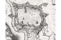 Cheb obležení, Merian M.,  mědiryt 1647