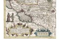 Mercator - Hondius, Tartaria, mědiryt, 1630