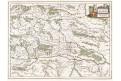 Blaeu W. J.:  Stiria Steyrmarck,  mědiryt, (1640)
