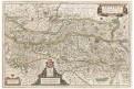 Blaeu G. : Austria Archiducatus, mědiryt, (1640)