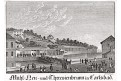 Karlovy Vary Theresienbrunen, mědiryt, (1820)