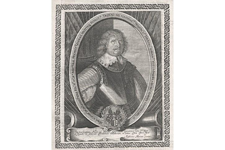 Paykul, Georg, Merian,  mědiryt 1652