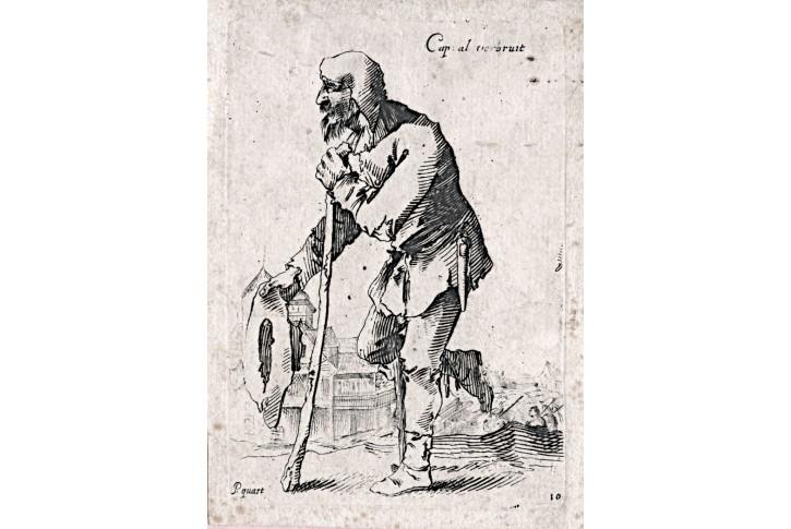Quast - Schmidt, Caapral, mědiryt, 1673