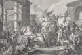 Napoleon apotheosa , mědiryt, (1810)