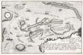 Plaňany Kouřim Chocemice, mědiryt (1760)