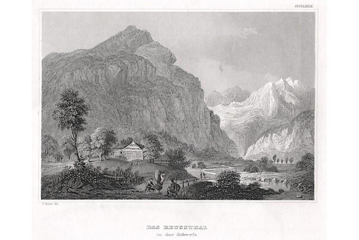 Reussthal, Meyer, oceloryt, 1850