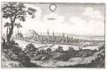 Slaný, Merian, mědiryt, 1650