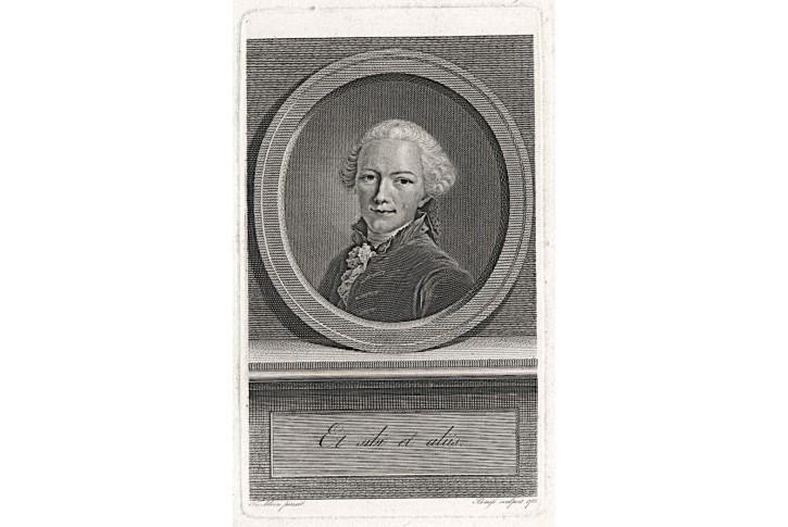 Gottfried Winckler, J. Bause, mědiryt, 1766