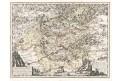 Schenck Jun. : Karlovy Vary, kolor. mědiryt, 1715