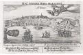 Salvador da Bahia Brazil, Meissner, mědiryt, 1637